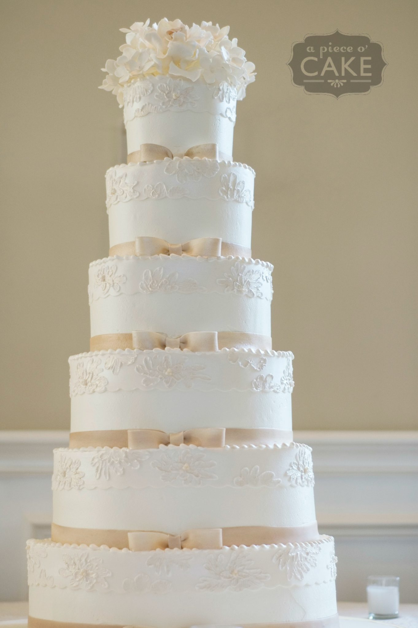 White Wedding Cakes With Cream