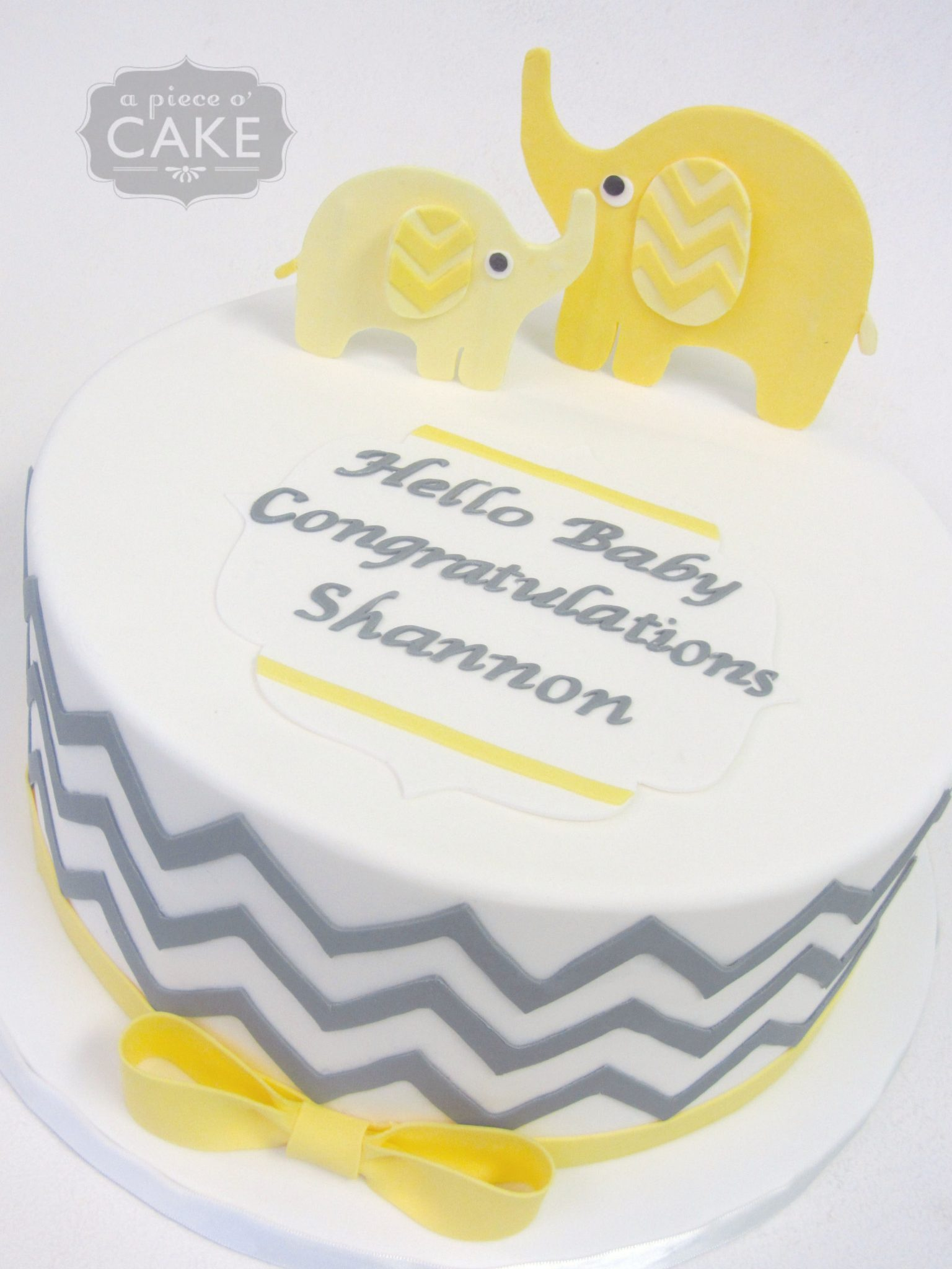 Baby Shower Cakes Gallery A Piece O Cake