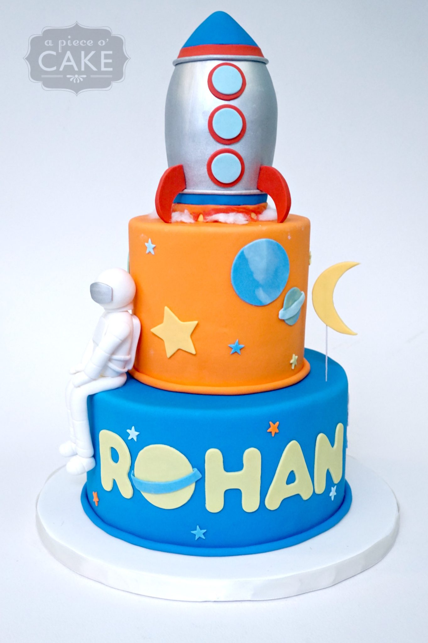 Outer Space Birthday Cake